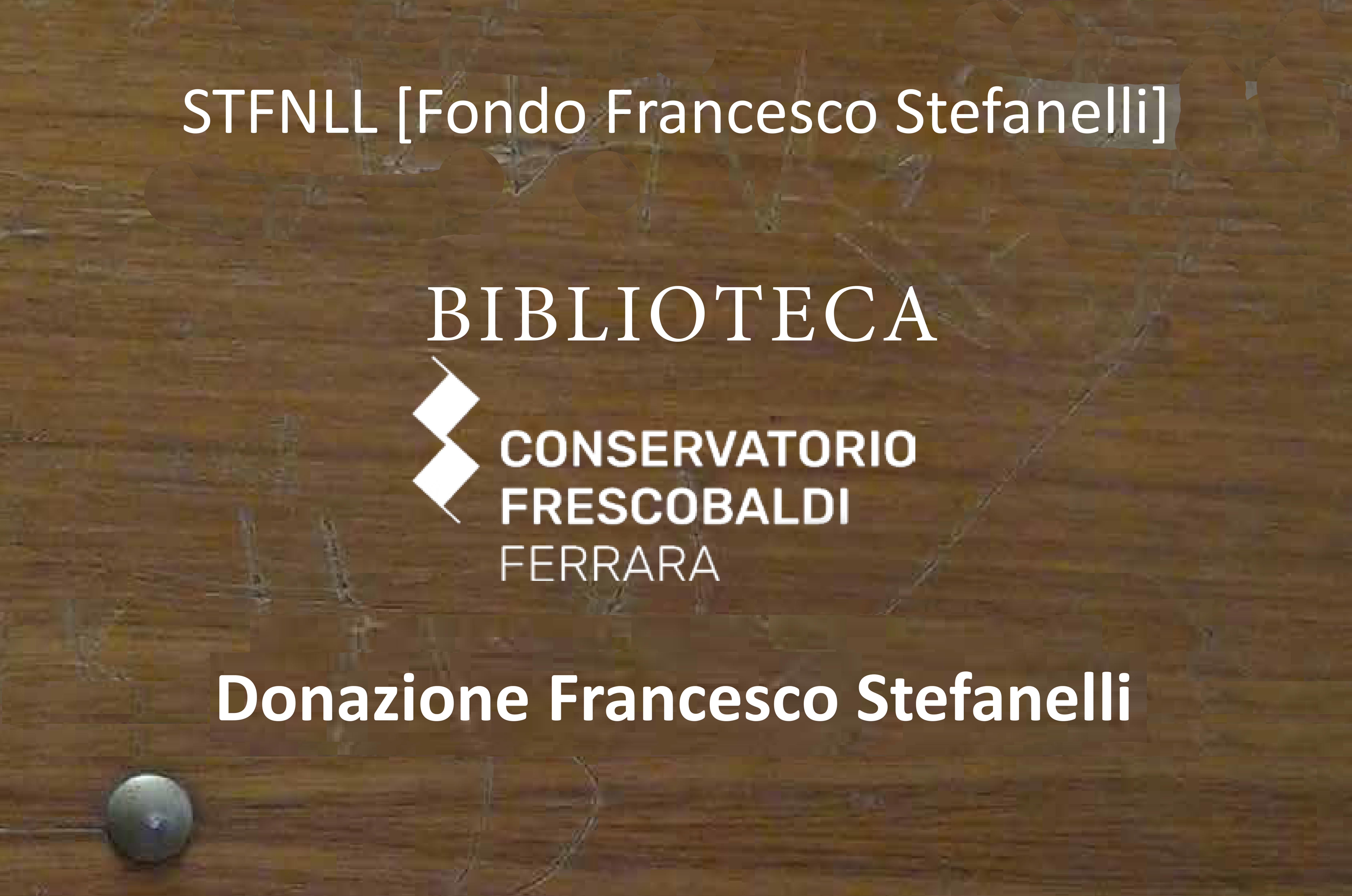Fondo Stefanelli