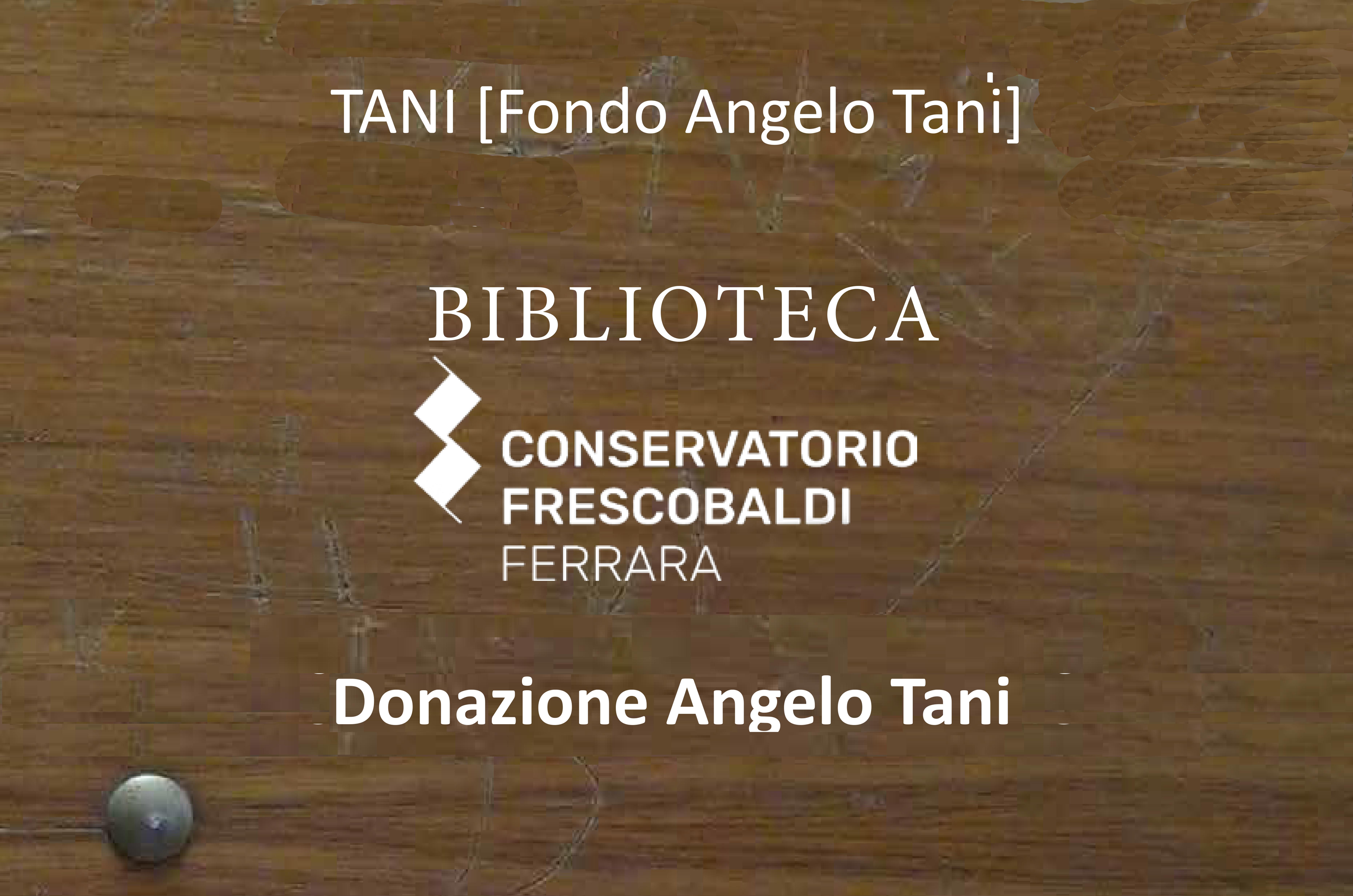 Fondo Tani
